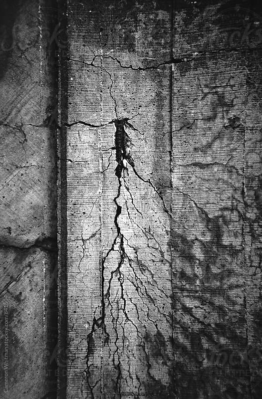 Cracked Foundation by Cameron Whitman for Stocksy United