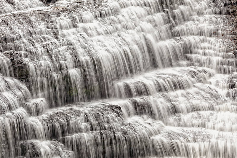 Cascade on the Falling Water River in Tennessee by David Smart for Stocksy United
