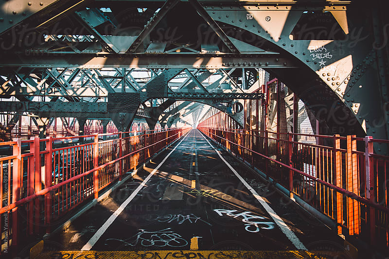Williamsburg Bridge by Matthew Yarnell for Stocksy United