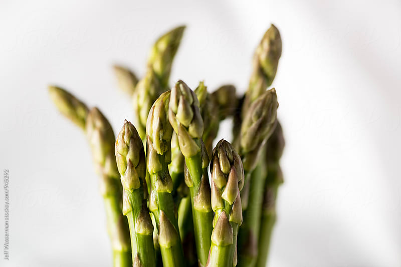 Raw Asparagus by Jeff Wasserman for Stocksy United