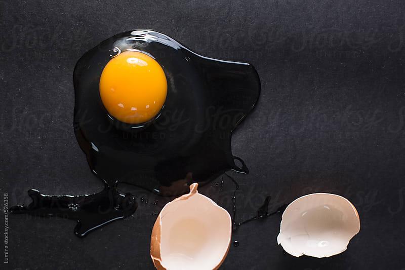 Broken Egg by Lumina for Stocksy United