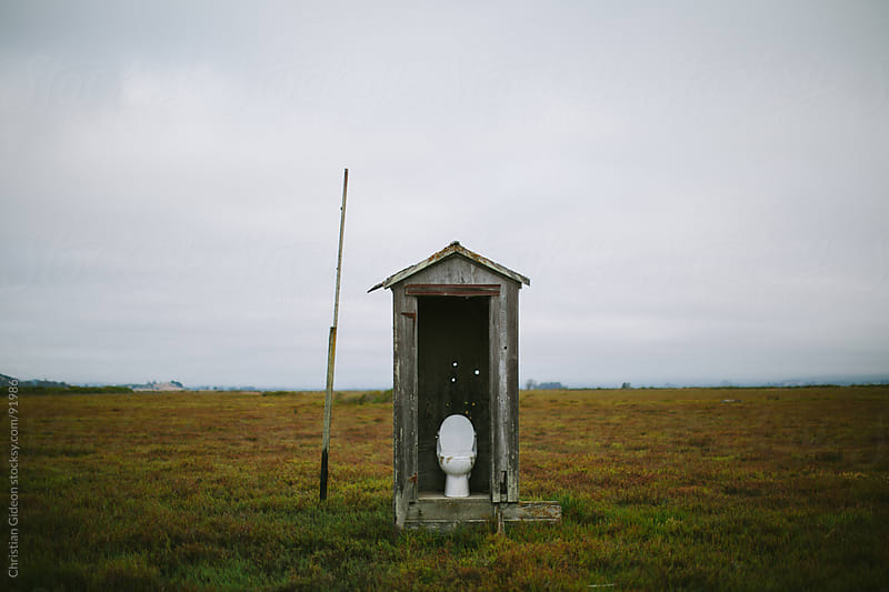 Isolated Toilet by Christian Gideon for Stocksy United