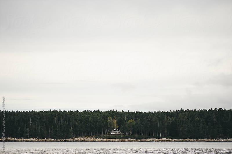 Lone house by Melanie DeFazio for Stocksy United