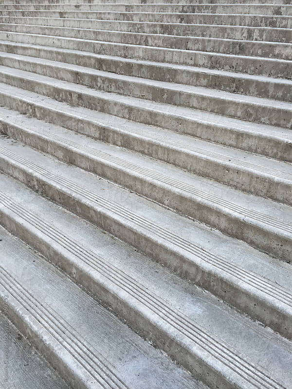 Concrete Steps by Ronnie Comeau for Stocksy United