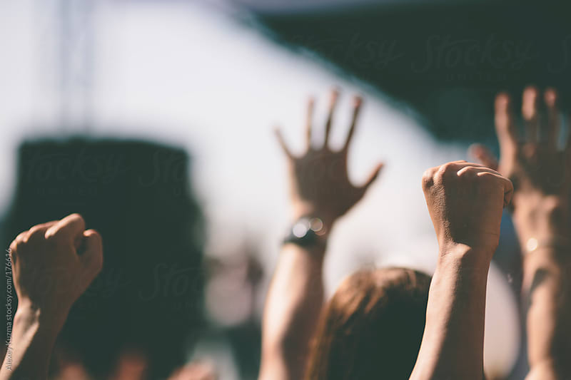 live music festival by Alexey Kuzma for Stocksy United