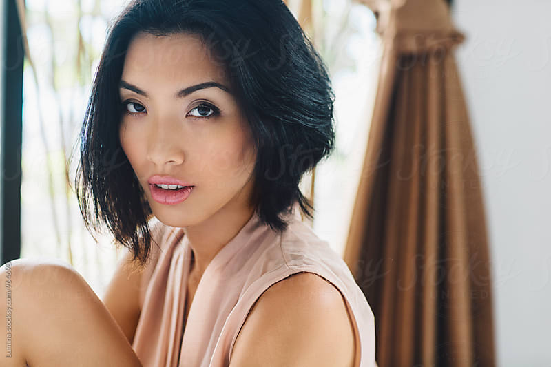 Portrait of a Asian Woman by Lumina for Stocksy United