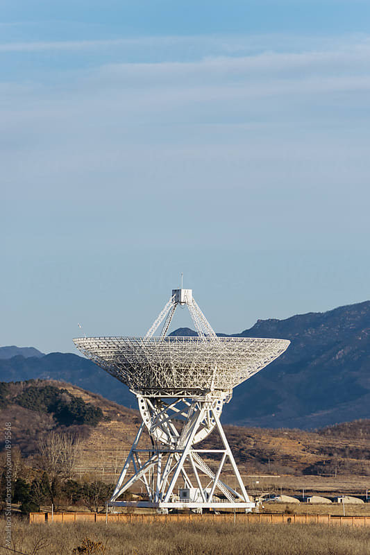 Radio Telescope by MaaHoo Studio for Stocksy United