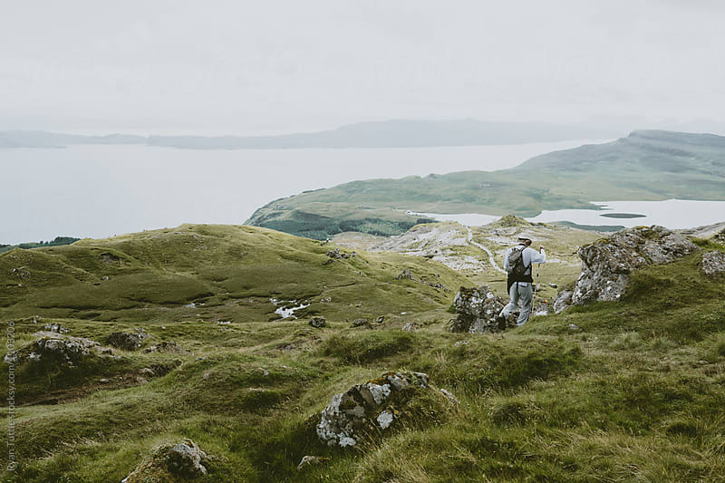 The Old Man of Storr by Ryan Tuttle for Stocksy United
