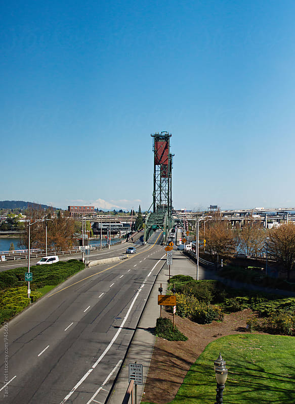 Hawthorne Bridge in Portland Oregon by Tana Teel for Stocksy United