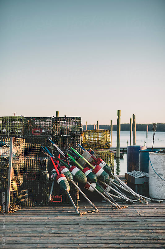 Buoys and Traps by Mark Fleming for Stocksy United