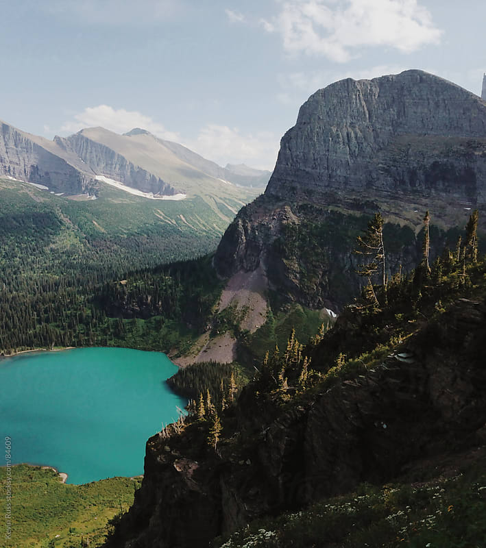 Grinnell Lake by Kevin Russ for Stocksy United