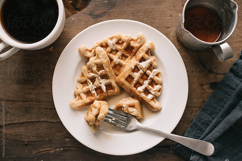 waffles by Melanie DeFazio for Stocksy United