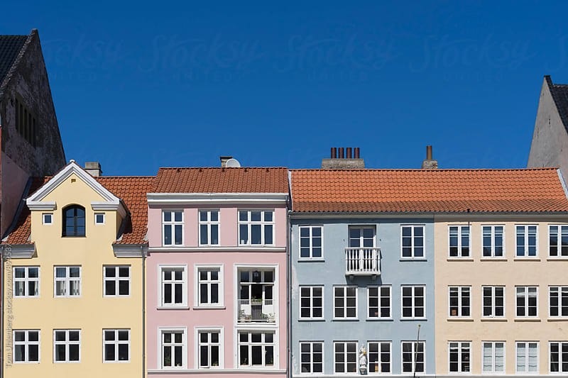 Copenhagen, Denmark - Colorful Houses in Nyhavn by Tom Uhlenberg for Stocksy United