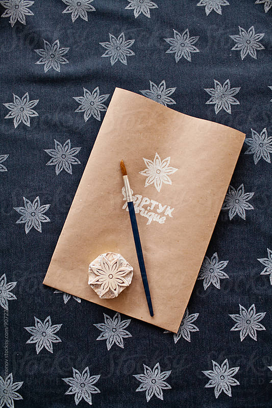 Apron with gift packing by Sergey Filimonov for Stocksy United