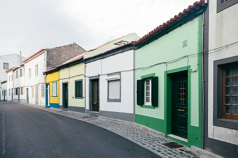 Portuguese Houses by Agencia for Stocksy United