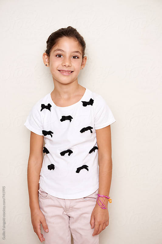 smiling little girl by Guille Faingold for Stocksy United