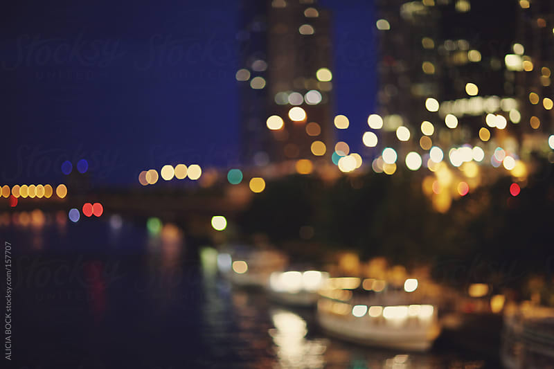 Chicago River Abstract by ALICIA BOCK for Stocksy United