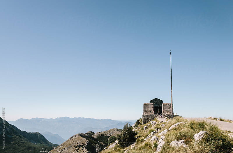 Lovcen National Park Mausoleum by Agencia for Stocksy United