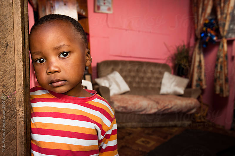 cute African Boy by Micky Wiswedel for Stocksy United