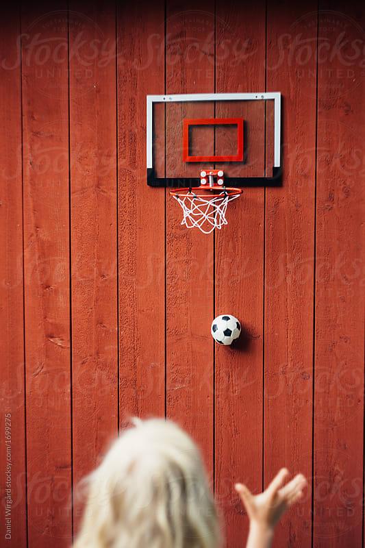 Soccer basket