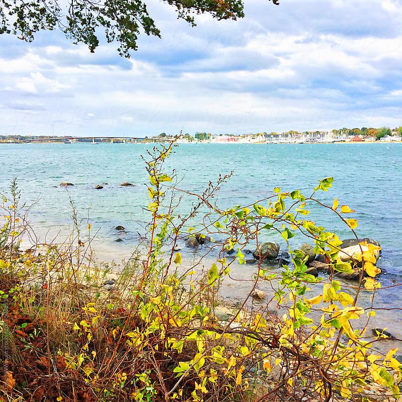 Sea coast in Salem, Massachusetts  by J Danielle Wehunt for Stocksy United