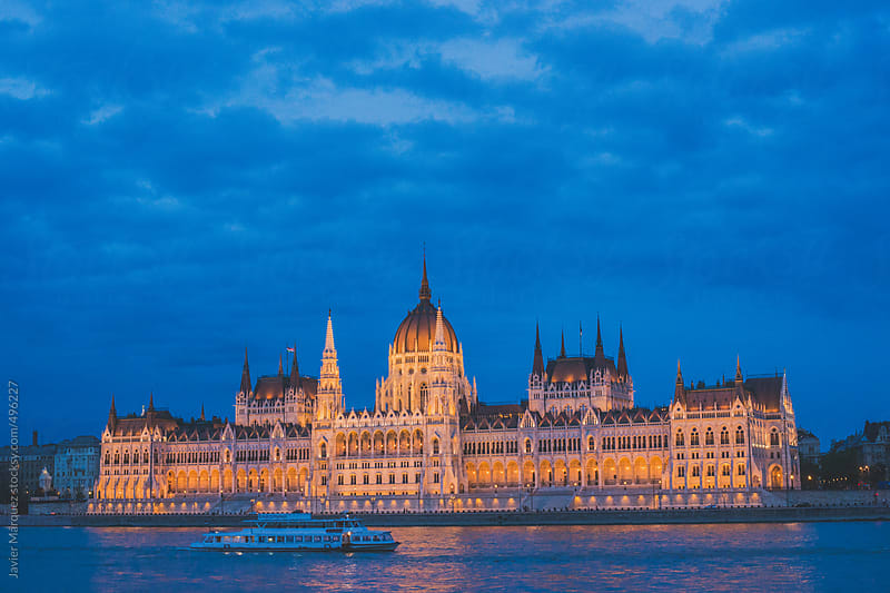 Budapest Parliament by Javier Márquez for Stocksy United
