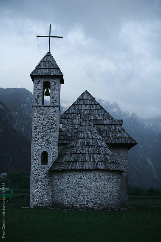 Church in an Albanian Valley by Freek Zonderland for Stocksy United