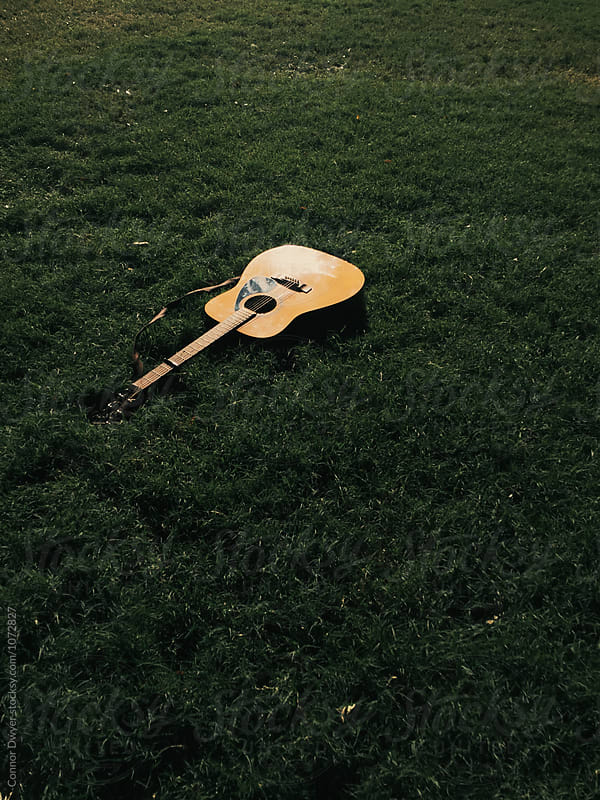 Falltime guitar by Connor Dwyer for Stocksy United
