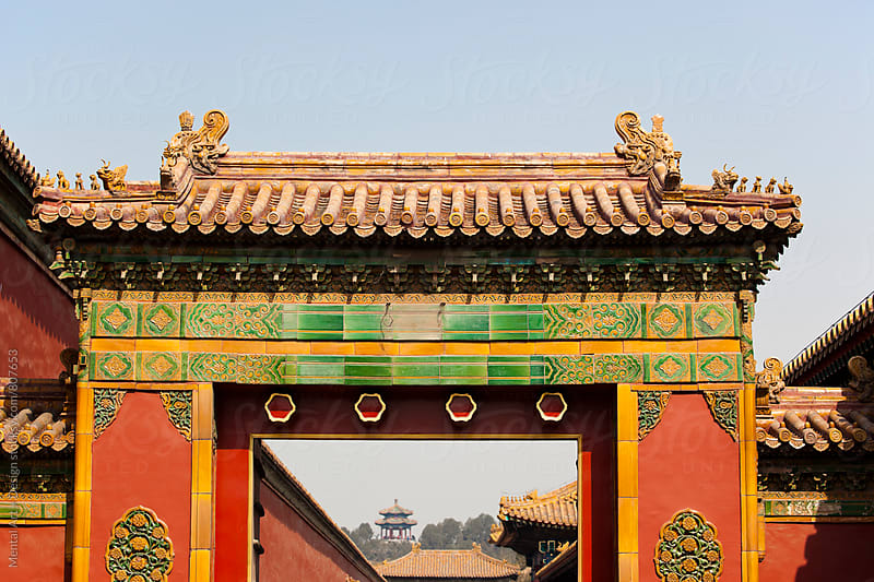 Forbidden City Beijing, China by Mental Art + Design for Stocksy United