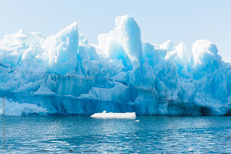 large iceberg in Alaska by Cameron Zegers for Stocksy United