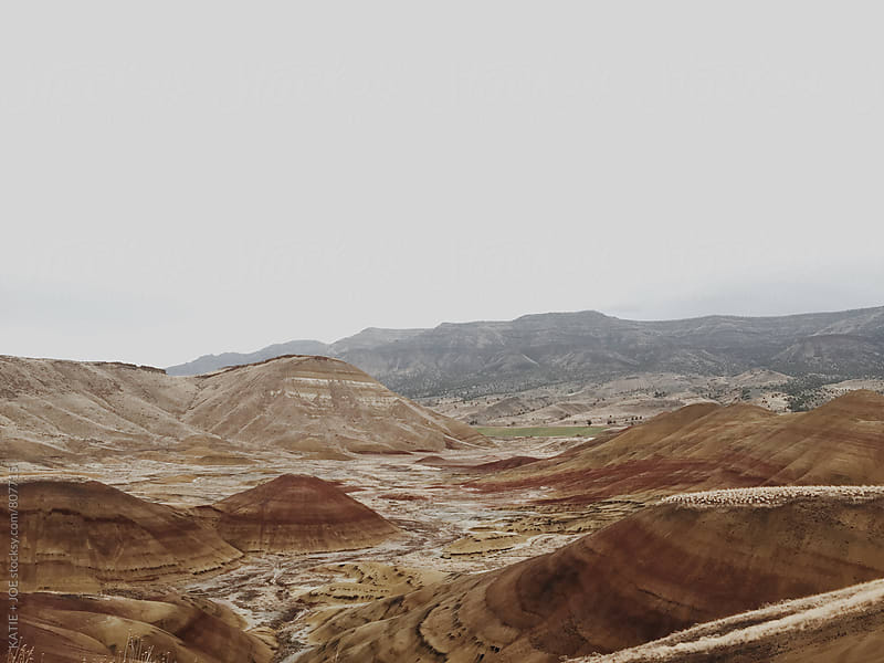 The painted hills in oregon by KATIE + JOE for Stocksy United