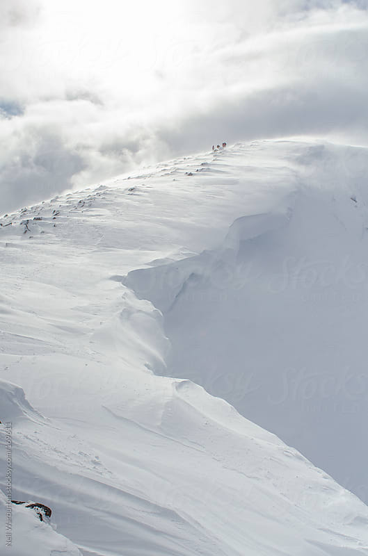 Mountain Cornice by Neil Warburton for Stocksy United