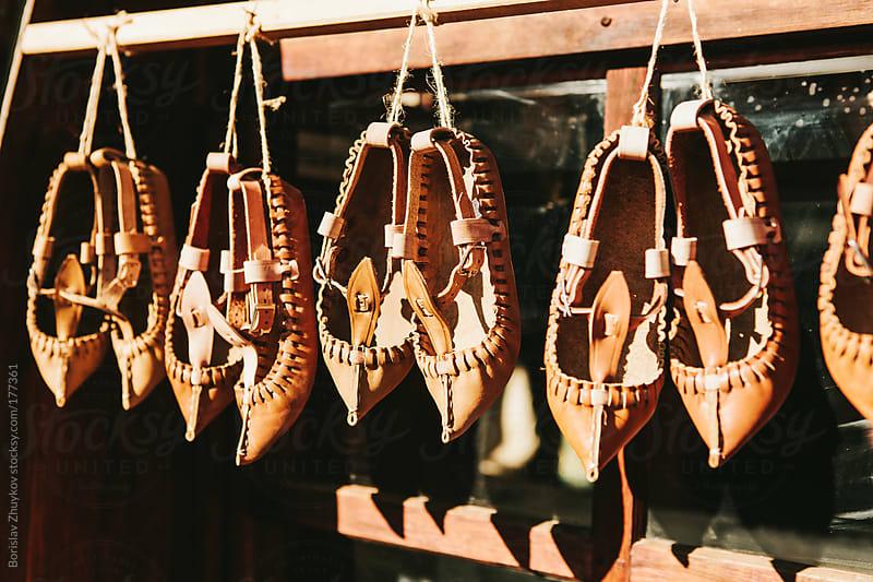 Traditional shoes by Borislav Zhuykov for Stocksy United