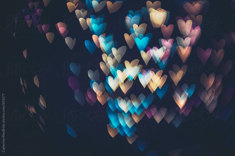 Heart Bokeh... by Catherine MacBride for Stocksy United