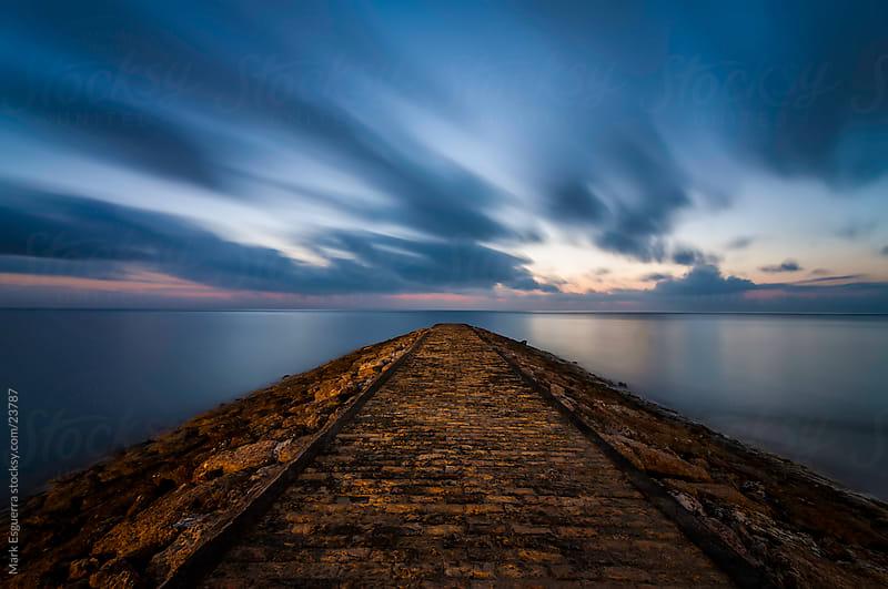 Racing the sunrise by Mark Esguerra for Stocksy United