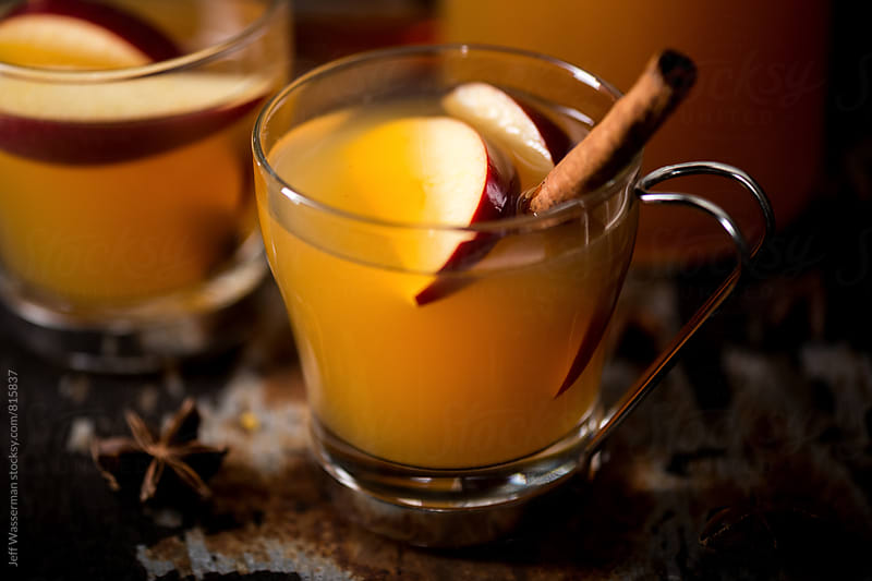 Hot Apple Cider Drink by Jeff Wasserman for Stocksy United