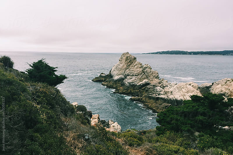 Beautiful Landscape Scene on Coast by Jesse Weinberg for Stocksy United