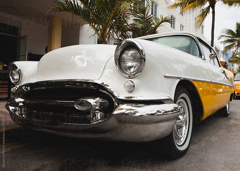 Classic Car in Miami by Stephen Morris for Stocksy United