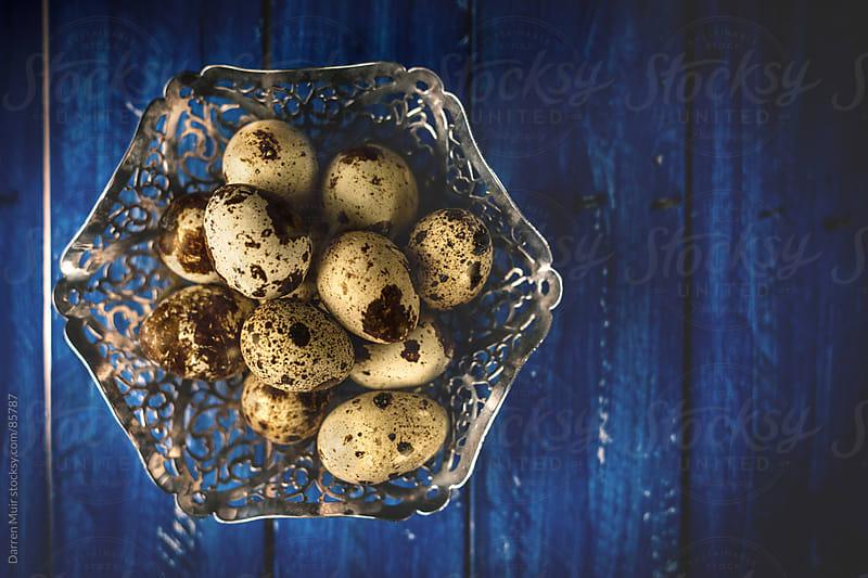 Quail eggs. by Darren Muir for Stocksy United