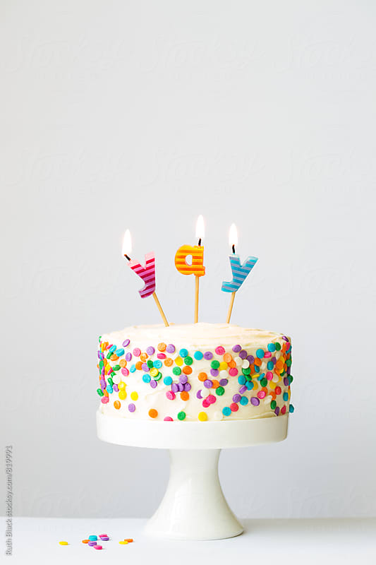 Celebration cake by Ruth Black for Stocksy United