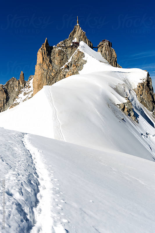 Aiguille du Midi by RG&B Images for Stocksy United