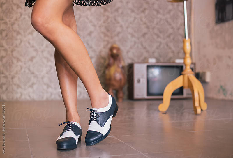 Woman wearing stylish shoes by Jovo Jovanovic for Stocksy United