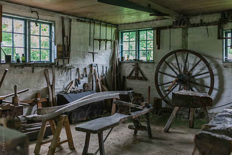 Old workshop by Zocky for Stocksy United