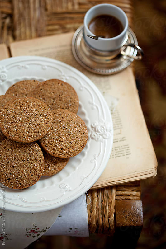 Rye flour banana cookies by Federica Di Marcello for Stocksy United
