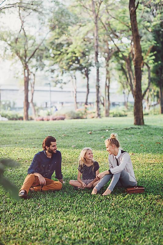 Family at the Park by Lumina for Stocksy United