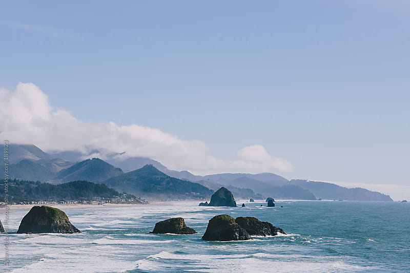 The rocky coast by Dylan M Howell Photography for Stocksy United