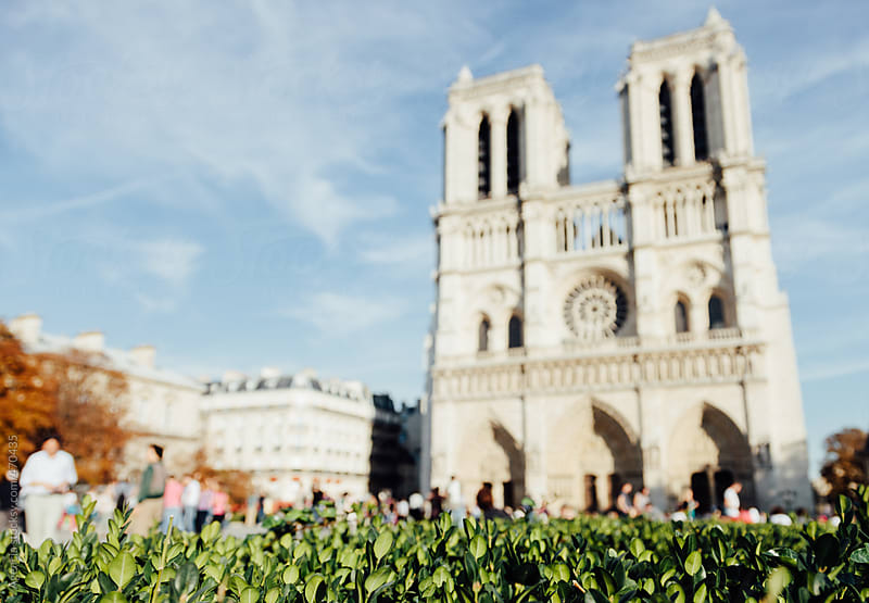 Notre Dame by Agencia for Stocksy United