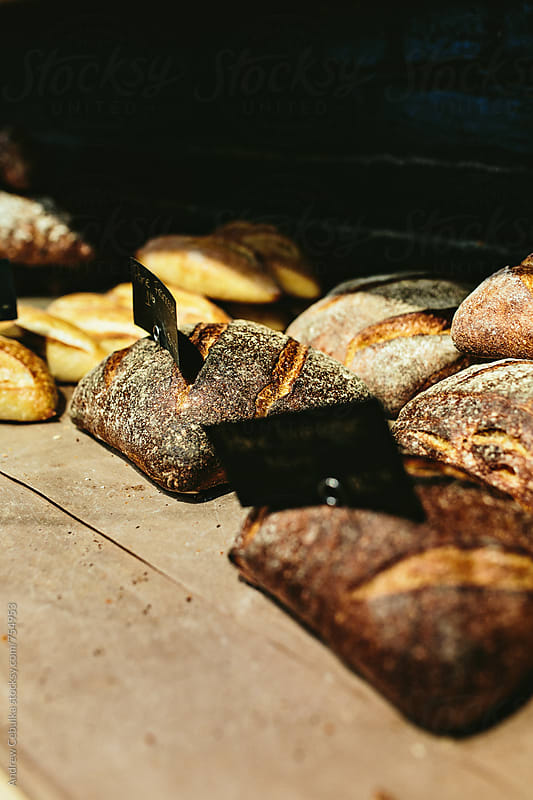 Artisanal Bread by Andrew Cebulka for Stocksy United