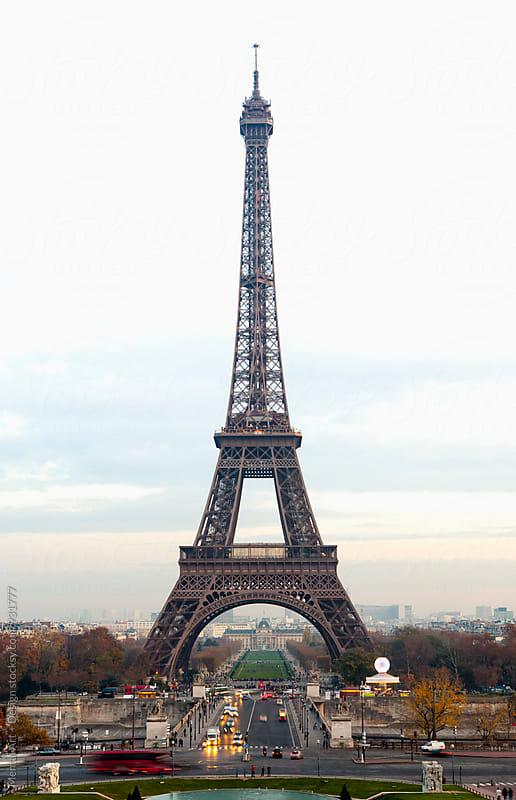 Paris Eiffel tower by Mental Art + Design for Stocksy United