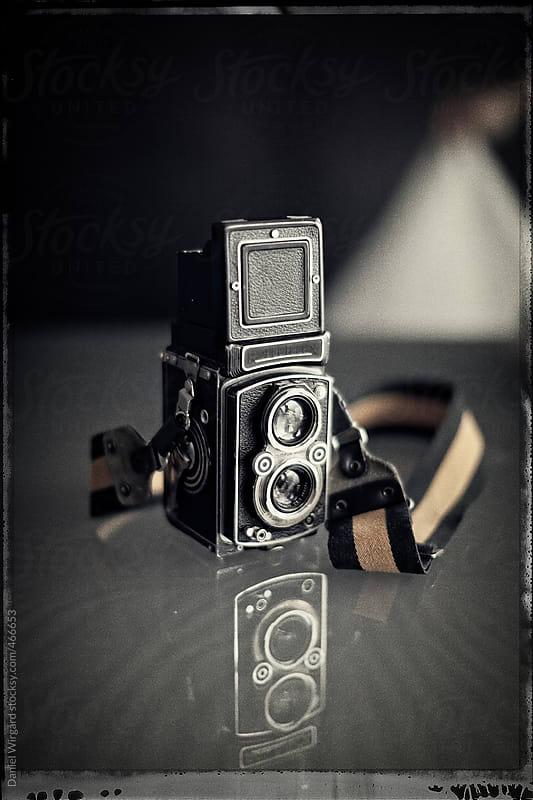 Twin lens reflex by Daniel Wirgård for Stocksy United